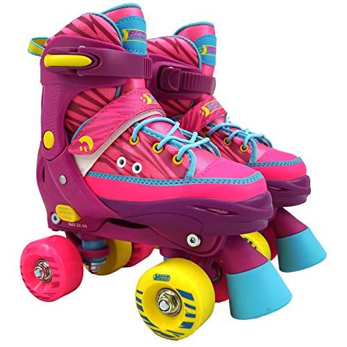Best Sporting Rollschuhe für Kinder ab 5 Jahren, Größe verstellbar,...