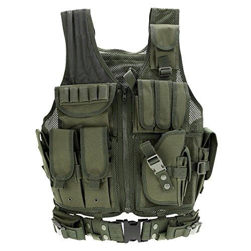 Docooler Militärische Taktik-Weste für Jagd Camping Wandern...