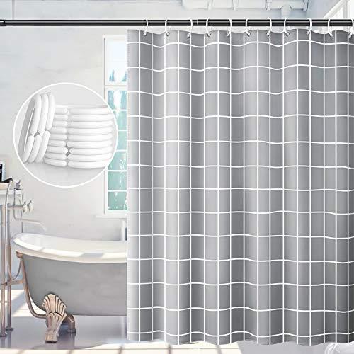 Duschvorhang, Duschvorhang Antischimmel 180x180, Waschbare...