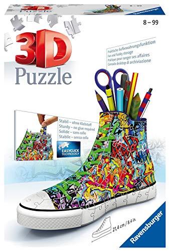 Ravensburger 3D Puzzle 12535 Sneaker Graffiti - Praktischer...
