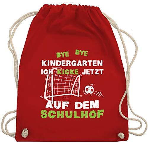 Shirtracer Einschulung und Schulanfang Geschenk - Bye Bye Kindergarten...