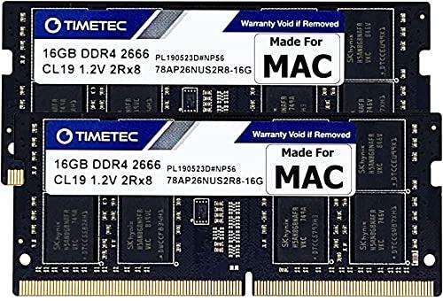 Timetec Hynix IC 32GB KIT(2x16GB) Compatible for Apple DDR4 2666MHz...