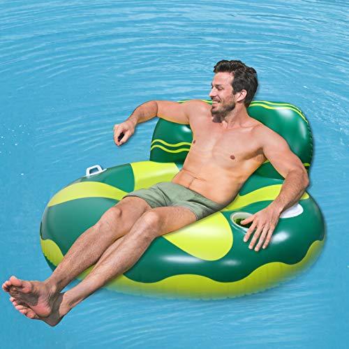 Wasser Hängematte, Aufblasbar Pool Liegestuhl Float Pool Lounge...