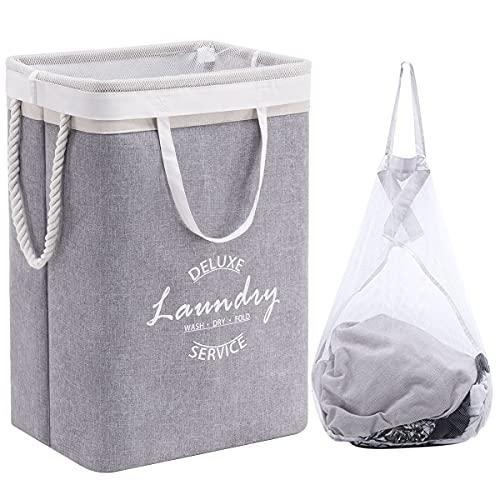 YOUDENOVA Wäschekorb Faltbar Wäschesammler Wäschebox Laundry Hamper...