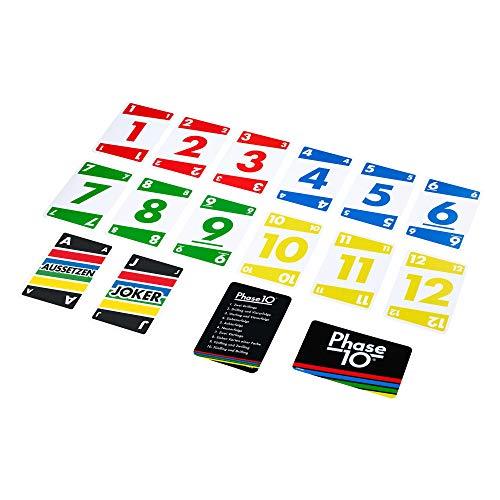 Mattel Games FPW38 - Phase 10 Kartenspiel und Gesellschaftspiel...