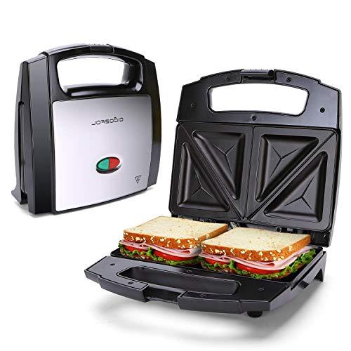 Sandwichmaker Dreieckig Antihaftbeschichtung Trockengehschutz BPA Frei...