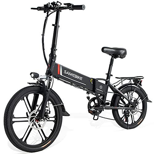 20 Zoll Elektrofahrrad E-Bike, Klappbares Citybike Herren Damen 350W...