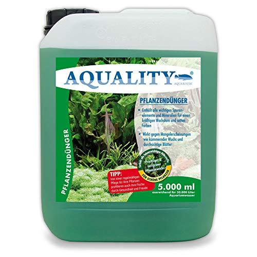 AQUALITY Aquarium Pflanzendünger (Mit lebenswichtigen Spurenelementen...