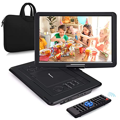 NAVISKAUTO 16' Tragbarer DVD Player HDMI Eingang HD 1080P 1366*768 6...