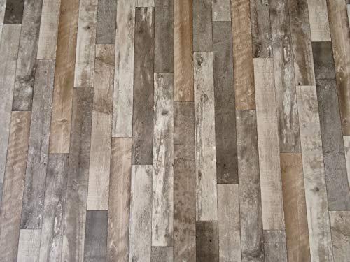 PVC Bodenbelag Vinylboden in markantem Holz-Design (8,95€/m²),...