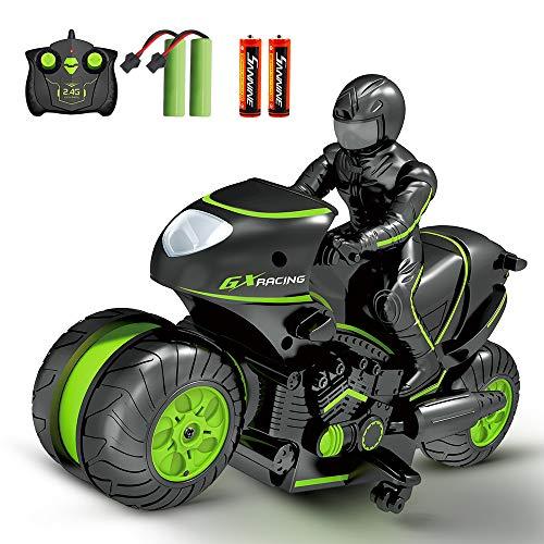 Sinovan Ferngesteuerte Auto Motorrad für Kinder, 2,4Ghz...