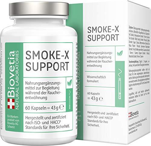 SMOKE-X Nichtraucher Kapseln, Rauchen aufhören und endlich...