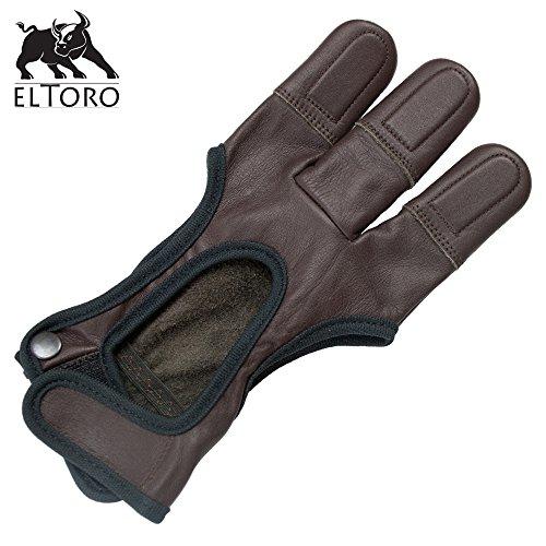 elToro Schießhandschuh Chestnut   M - Medium; Handschuh für den...