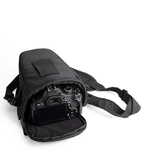 K-S-Trade Schultertasche Umhängetasche Kompatibel Mit Canon PowerShot...