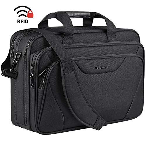 KROSER Laptop Tasche 18 Zoll Prämie Business Aktentasche Passt Bis Zu...