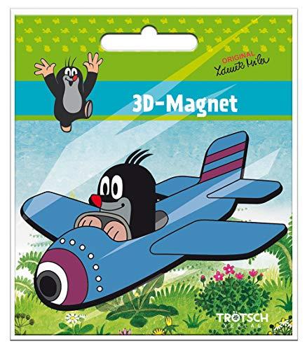 Trötsch Der kleine Maulwurf Magnet Maulwurf Flugzeug: Magnet für...
