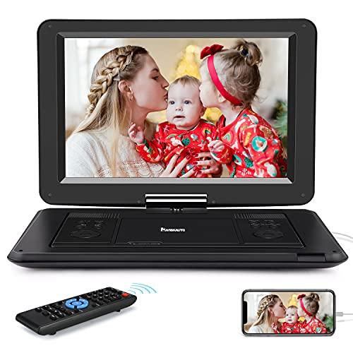 NAVISKAUTO 14' Tragbarer DVD Player HDMI Eingang DVD Player 1280 * 800...