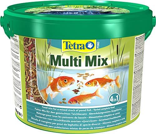 Tetra Pond Multi Mix – Fischfutter für Teichfische mit vier...