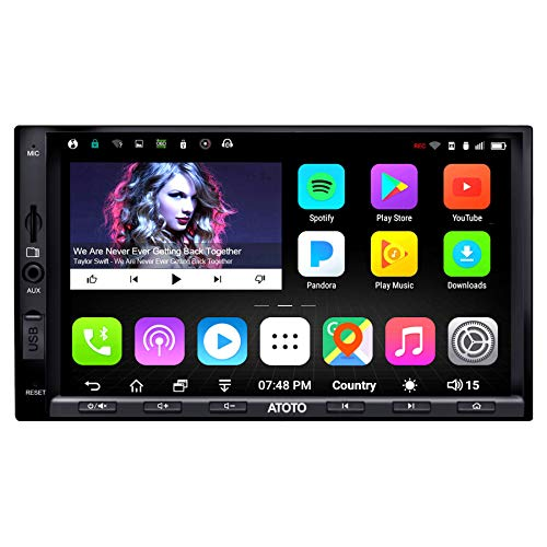 ATOTO A6 Doppel-Din Android Auto Navigation Stereo mit Dual Bluetooth...