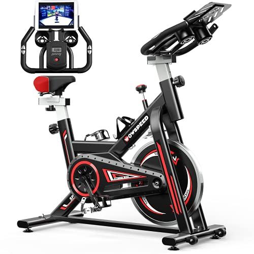 Heimtrainer, WOWSPEED Heimtrainer Fahrrad, Fitness Fahrrad, Indoor...