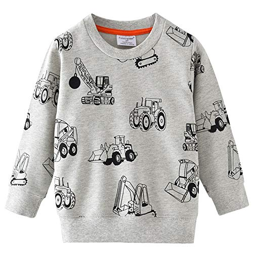 Little Hand Jungen Sweatshirt Jumper für Kinder Sweater Dinosaur...