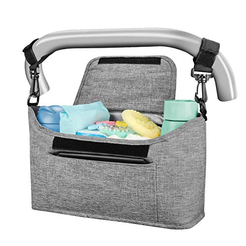 Yoofoss Kinderwagen Organizer Kinderwagentasche Multifunktionale und...
