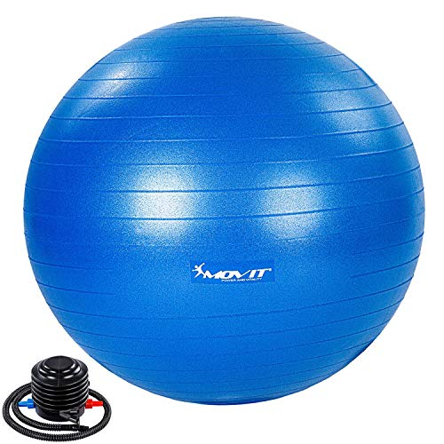 Movit® Gymnastikball »Dynamic Ball« inkl. Pumpe, 55 cm, blau,...