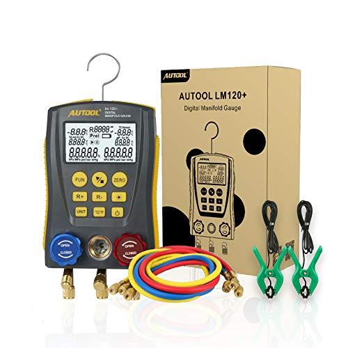 Kältetechnik Digitale Monteurhilfe HLK System Vakuum Druck Temp...