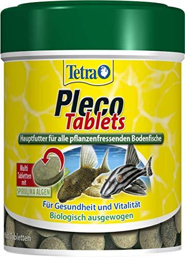 Tetra Pleco Tablets – Nährstoffreiches Hauptfutter für alle...