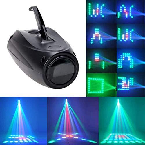 U`King LED Muster Partylicht, 64LED RGBW Lichteffekt Akustisch...