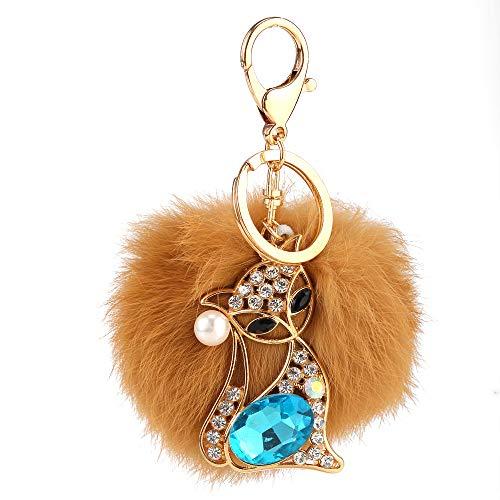 Sapphire Fox Female Keychain Auto Anhänger Tasche Zubehör Mode...