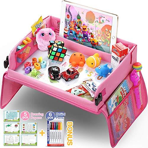 lenbest Kinder Reisetisch Kindersitz Spiel, Lernspielzeug für den...