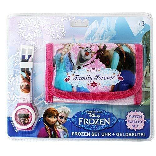 Disney Frozen Motiv Geschenk Set Kinder Geldbörse Geldbeutel und...