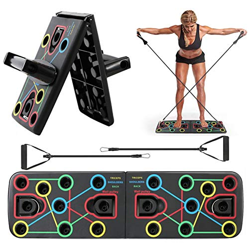 MEckily Push up Board, 13 in 1 Push up Board, Multifunktionale Fitness...