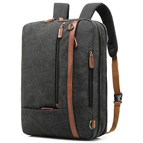 CoolBELL umwandelbar Aktentasche Rucksack Messenger Bag 15,6 Zoll...