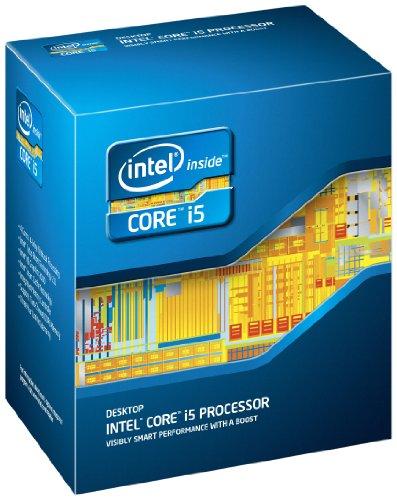 Intel Quad Core Prozessor (Intel Core i5-2500, 3,3GHz, 6MB Cache, 1155...