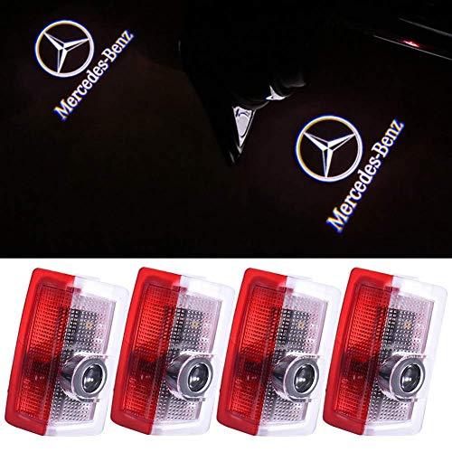 Klinee Autotür LED Beleuchtung Logo Lichter Projektor Courtesy...