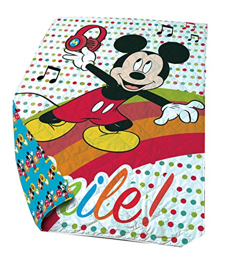 Disney tagesdecke Mickey Mouse junior 140 x 200 cm Polyester