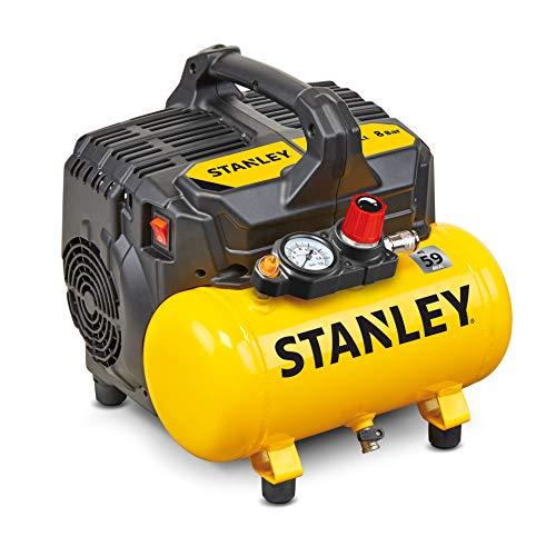 Stanley 100/8/6 Silent Air Compressor DST 100/8/6SI, 750 W, 230 V,...