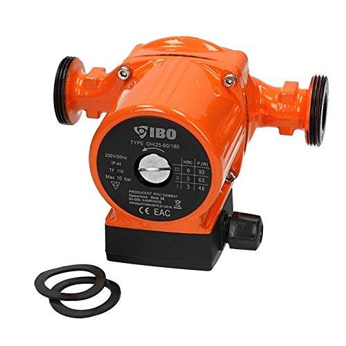 Umwälzpumpe IBO OHI 25-60/180 Heizungspumpe Pumpe Warmwasser Heizung...