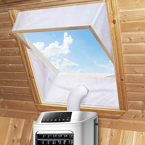 Fensterabdichtung für Mobile Klimageräte Dachfenster, Klimaanlage...