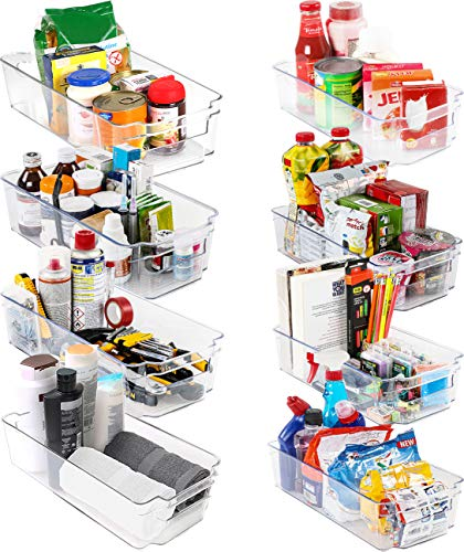 KICHLY Hochwertige vorratsschrank küche organizer - Set von 8 (4...