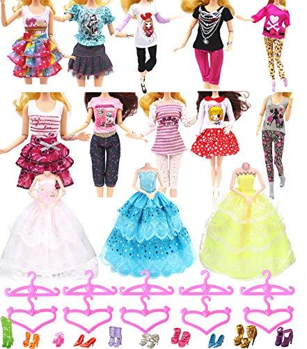 Hey~Yo Puppenkleidung für Barbie, 11.5 'Puppe Zubehör 33...