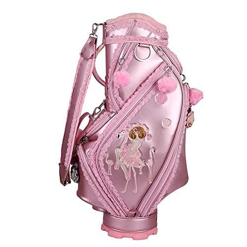 DHTOMC Bleistift Golf Bag Adult Golf Zubehör Pink Golf Bag Damen Golf...