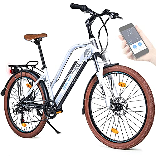 BLUEWHEEL 26' innovatives Damen E-Bike I Deutsche Qualitätsmarke I EU...