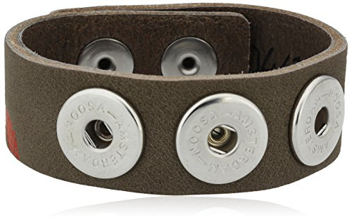 Noosa Damen-Armband Classic Skinny Messing 22.0 cm - WCS-050 4-S