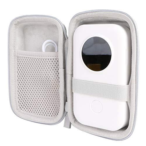 co2CREA Hart Reise schutzhülle Etui Tasche für Phomemo D30 Bluetooth...
