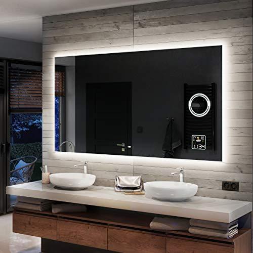 Artforma Badspiegel 140x70cm mit LED Beleuchtung - Wählen Sie...