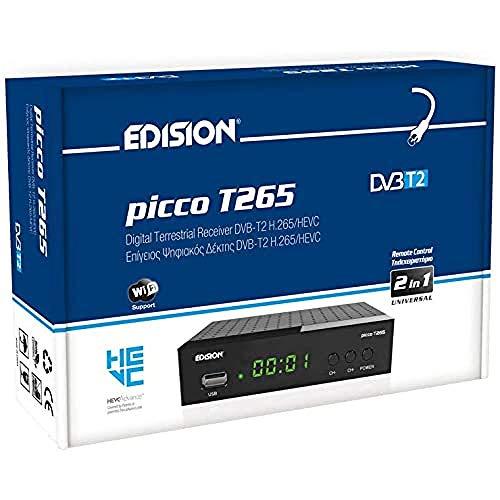 EDISION Picco T265 Full HD H.265 HEVC terrestrischer FTA Receiver T2,...