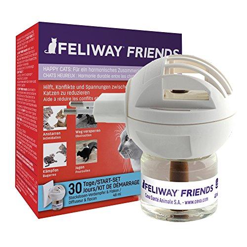 FELIWAY FRIENDS Start-Set, Verdampfer für die Steckdosen & Flakon